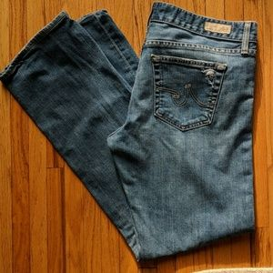 AG Tomboy Size 32 Ins 32 American made!